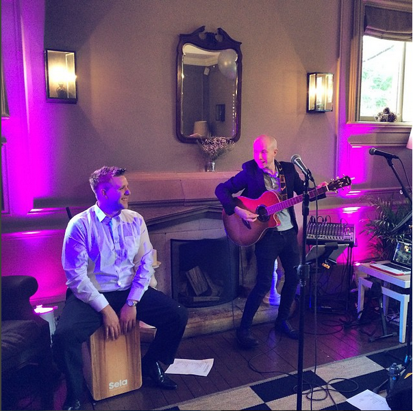 Karizma Trio at Alexa and Graham Wedding Olde Bell Berkshire